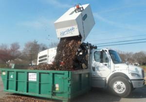 Dumping into Rolloff